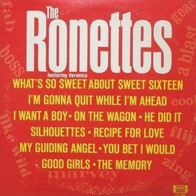 Ronettes, The - The Ronettes Featuring Veronica CD