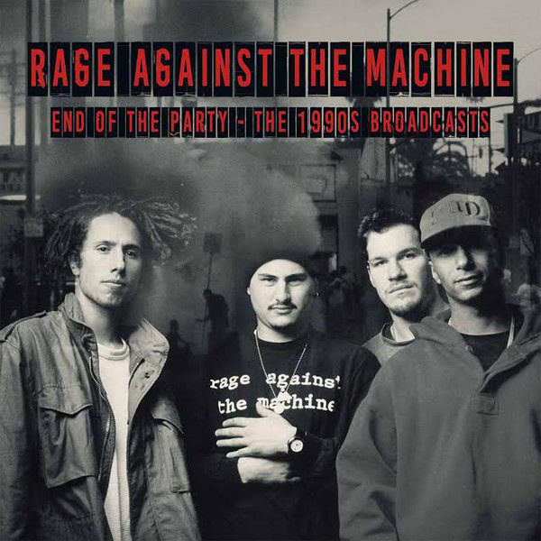 Rage Against The Machine ‎- End Of The Party DOUBLE LP