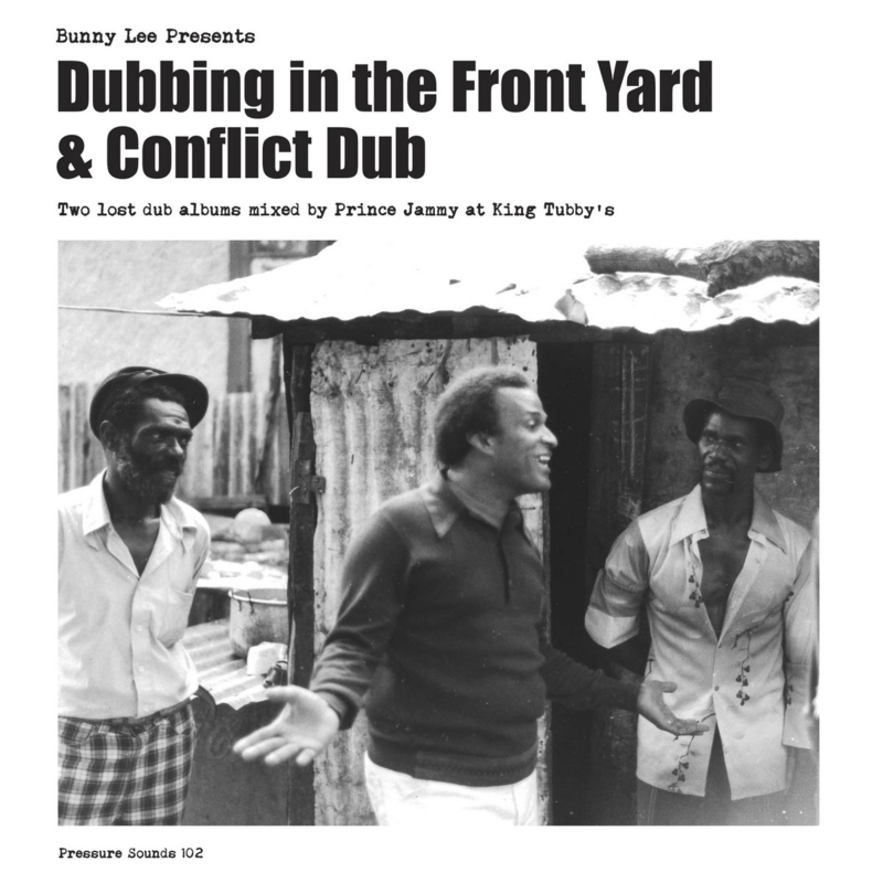 Prince Jammy & The Aggrovators - Bunny Lee Presents Dubbing In The Front Yard / Conflict Dub DOUBLE LP