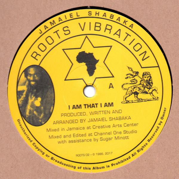 """Jamaiel Shabaka - I Am That I Am 12"""""""