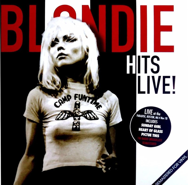 Blondie - Hits Live! LP
