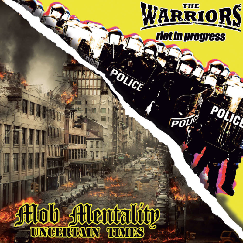 The Warriors / Mob Mentality - Brothers In Oi! EP