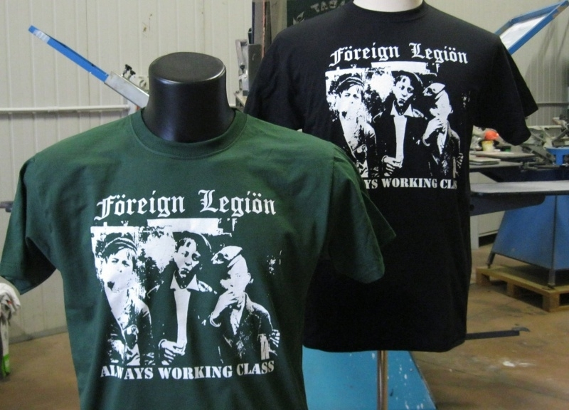 Foreign Legion - Always Working Class (Green) T-Shirt