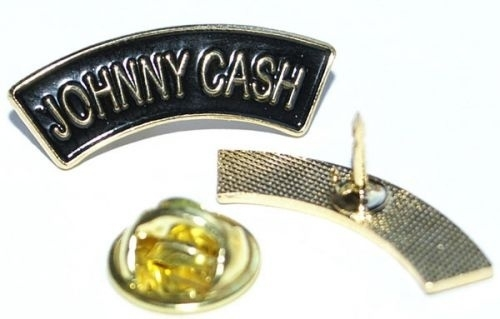 Cash, Johnny - logo metalpin