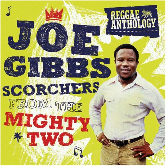 Joe Gibbs - Scorchers From The Mighty Two DOUBLE LP