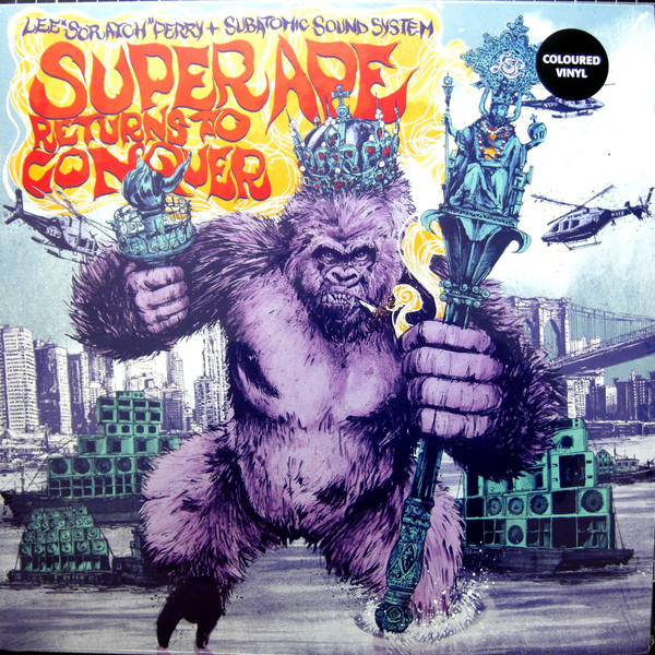 Lee Scratch Perry and Subatomic Sound System - Super Ape Returns To Conquer LP