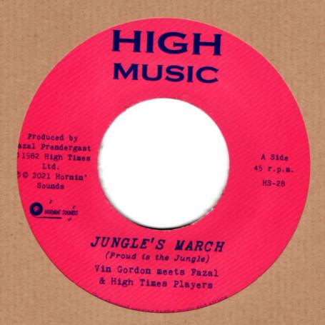 "Vin Gordon meets Fazal Prendergast & High Times Players - Jungle's March 7"""