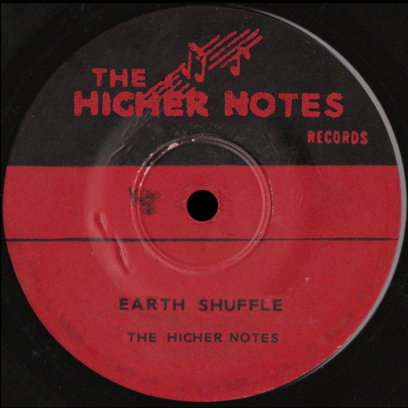 """The Higher Notes - Earth Shuffle/ Crackle Ska 7"""""""