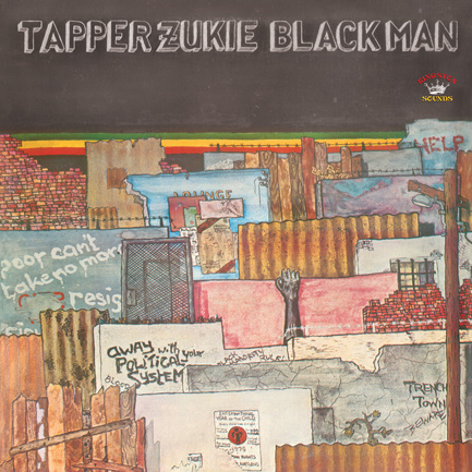 Tapper Zukie - Black Man LP