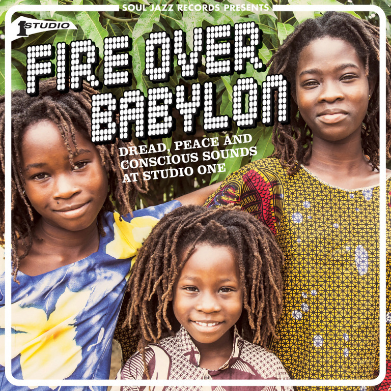 Various - Fire Over Babylon (Dread, Peace And Conscious Sounds At Studio One) DOUBLE LP