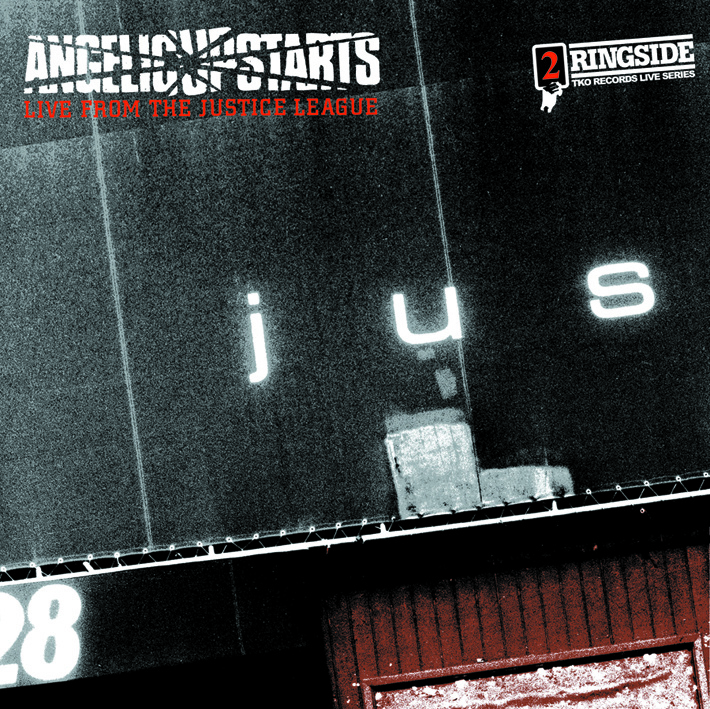 Angelic Upstarts - Live From The Justice League DOUBLE LP