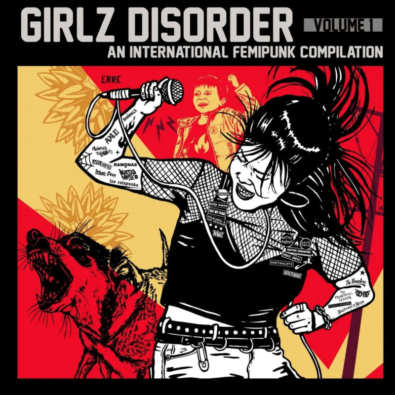 Various - Girlz Disorder. An International Femipunk Compilation. Vol 1 LP