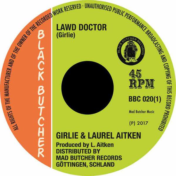 """Aitken, Laurel - Lawd Doctor / Big Fight In Hell Stadium 7"""""""
