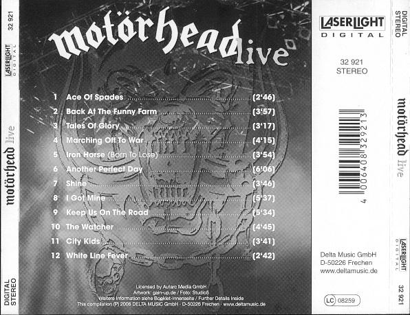 Motörhead - Live CD | CD | aggroshop