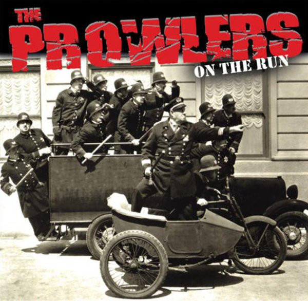 "Prowlers, The - On The Run 10"" (2nd press)"