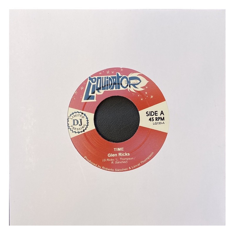 """Glen Ricks - Time / Woman 7"""""""