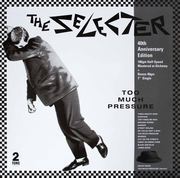 """The Selecter - Too Much Pressure LP + 7"""" (40th Anniversary)"""
