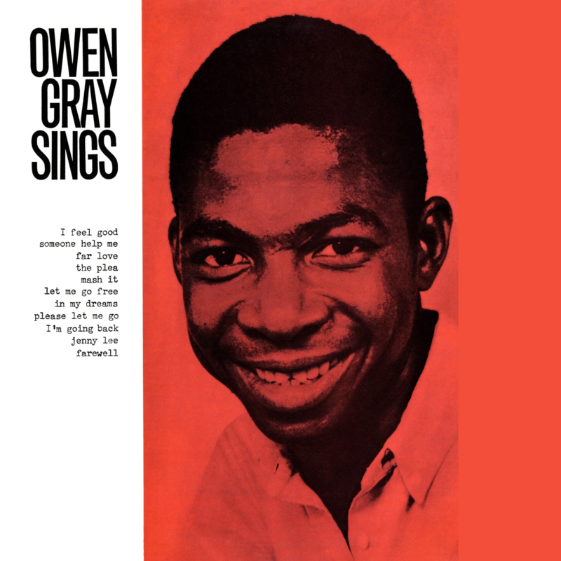 Owen Gray - Owen Gray Sings LP