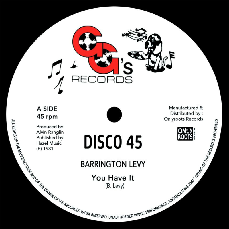 Barrington Levy - You Have It 12""