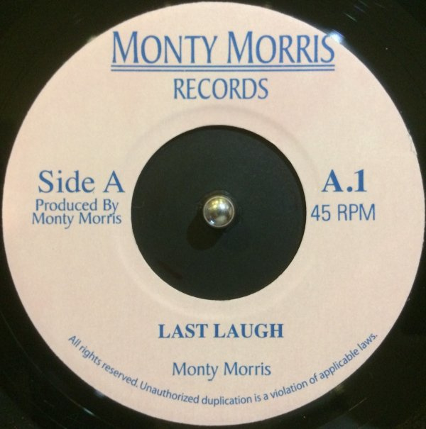 """Monty Morris - Last Laugh / You Really Got A Hold On Me 7"""""""