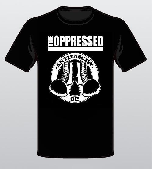 Oppressed, The - Antifascist Oi! Shirt (XXL)