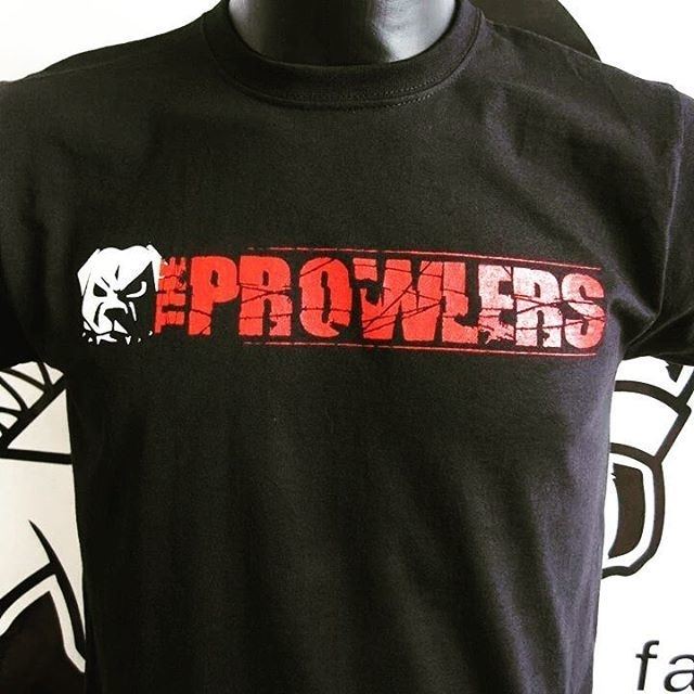 Prowlers, The - Tour T-Shirt (regular / girlie)
