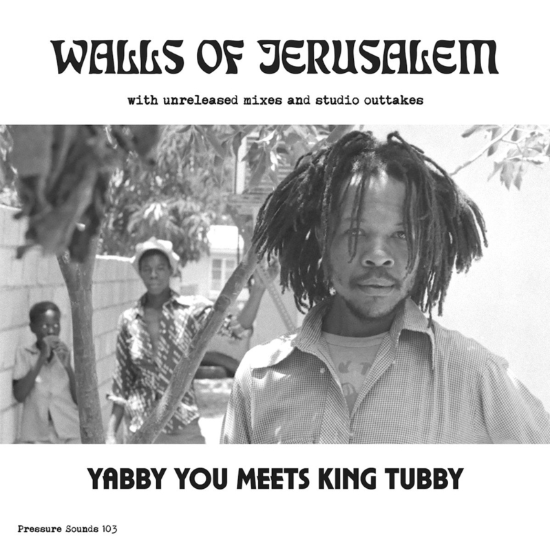 Yabby You Meets King Tubby - Walls Of Jerusalem DOUBLE LP