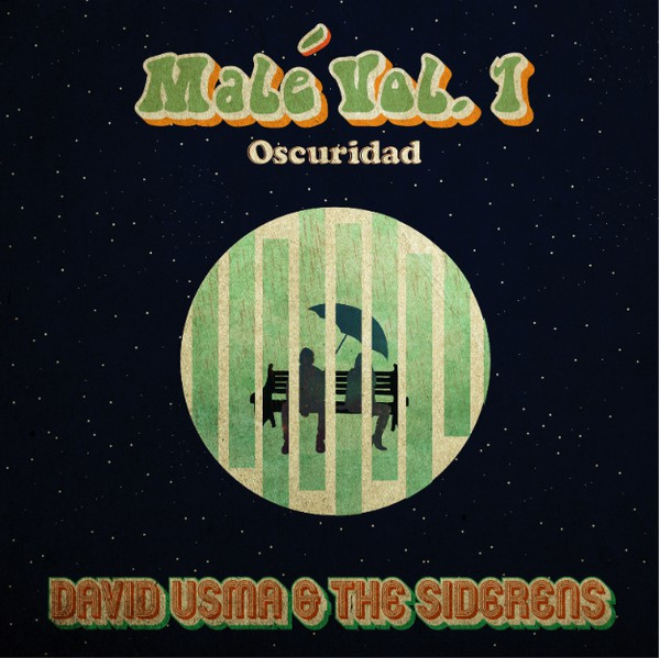 "David Usma and The Siderens - Hell Moon / Darkness 7"" (South American import)"