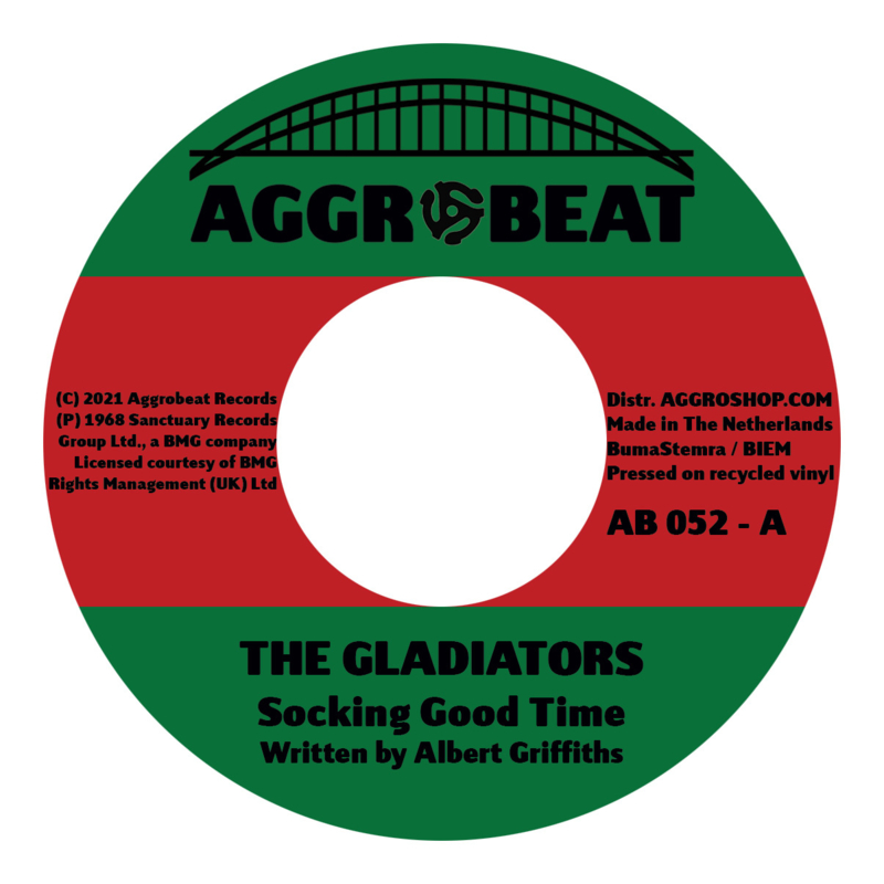 The Gladiators - Socking Good Time / I'll Take You To The Movies 7""