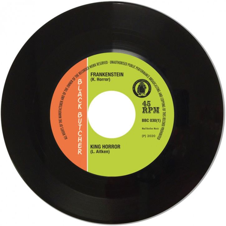 """King Horror / Winston Groovy - Frankenstein / I Can't Stand It 7"""""""
