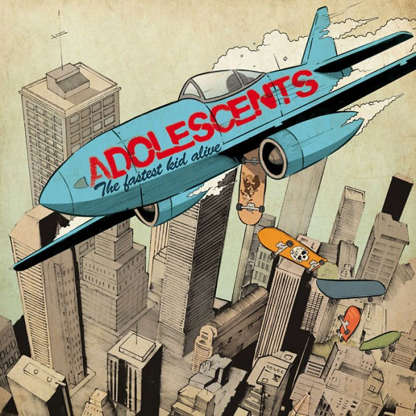 Adolescents - The Fastest Kid Alive LP (10th anniversary edition)