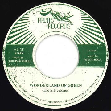 "The Silvertones - Wonderland Of Green 7"""