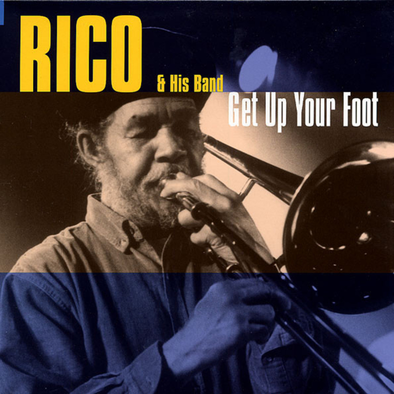 Rico Rodriguez & His Band - Get Up Your Foot LP
