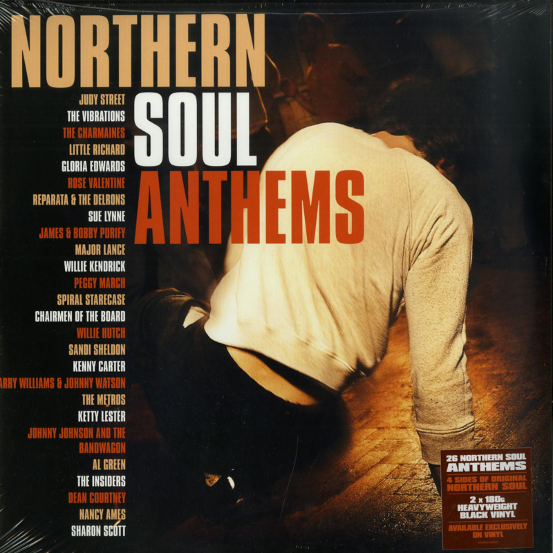 Various - Northern Soul Anthems DOUBLE LP