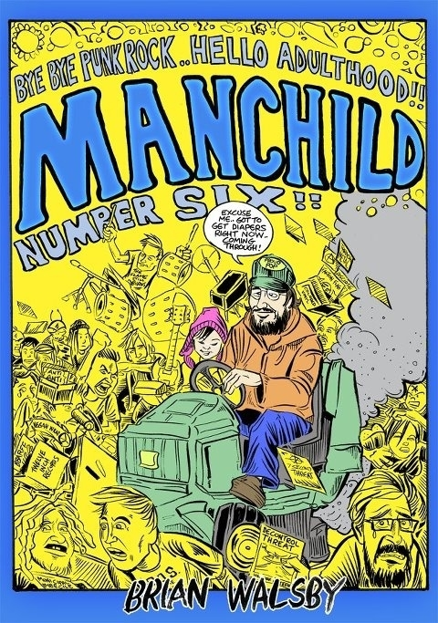 Walsby, Brian - Manchild 6 comic