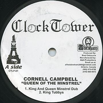 """Cornell Campbell - Queen Of The Minstrel 10"""""""