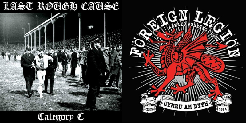 Last Rough Cause / Foreign Legion - split EP