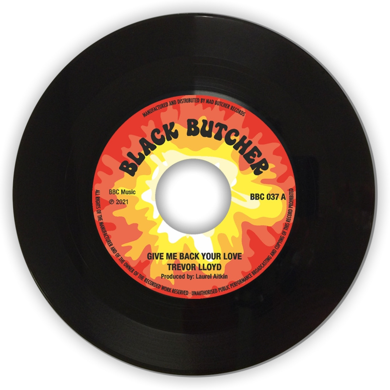 "Trevor Lloyd - Give Me Back Your Love / Hold Me 7"""