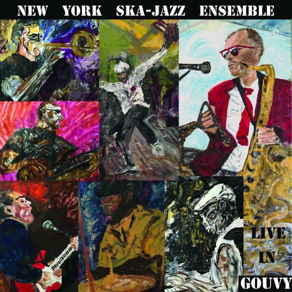 New York Ska-Jazz Ensemble - Live In Gouvy LP