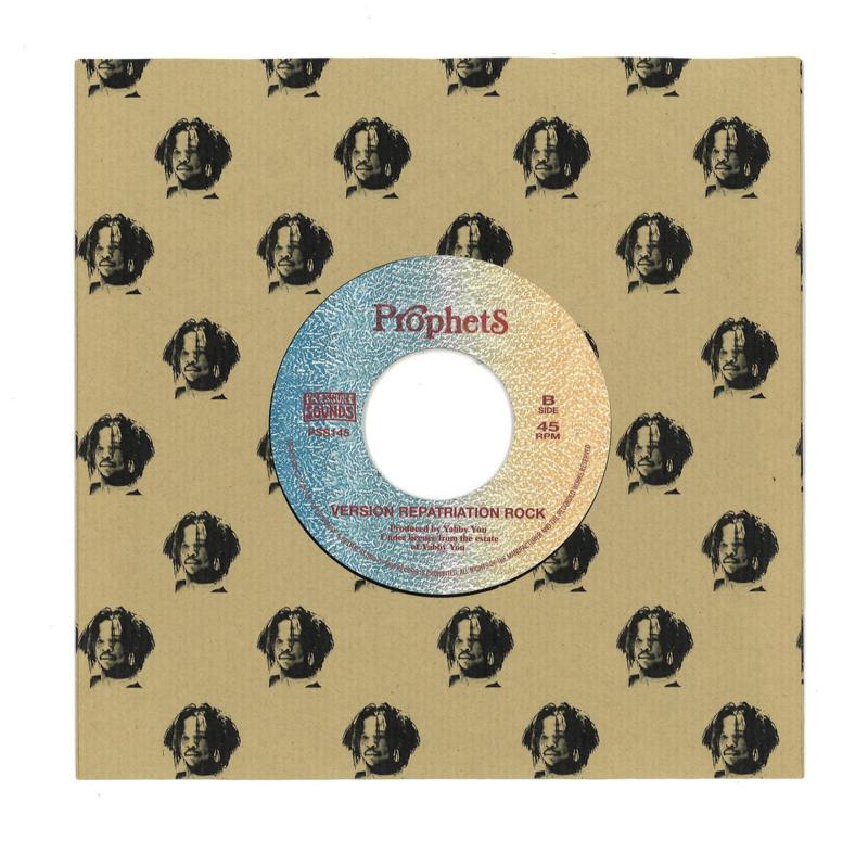 "Vivian Jackson & The Prophets - Judgement On The Land 7"""