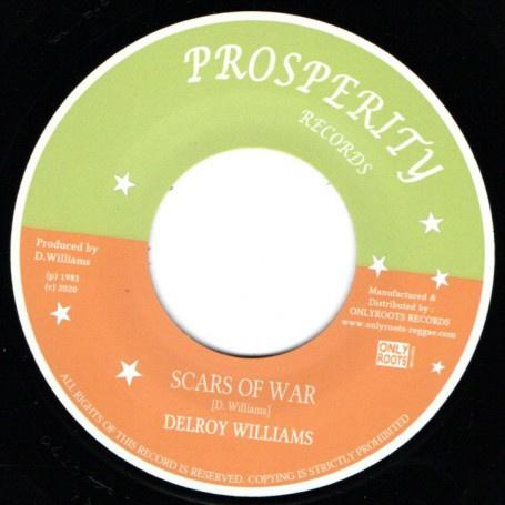 "Delroy Williams - Scars Of War 7"""