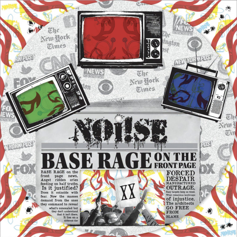 """Noi!se - Base Rage On The Front Page 12"""""""