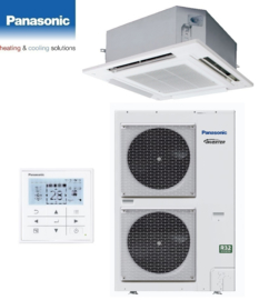 PANASONIC Elite Cassette  KIT-125PU2ZH8 12,5kW