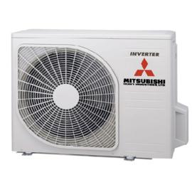 Mitsubishi inverter airco SRK20ZS-WB+SRC20ZS-W  2,0kW Black/White