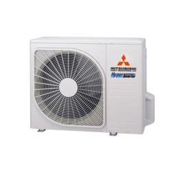 Mitsubishi inverter airco SRK20ZSX-WB+SRC20ZSX-W  2,0kW Black/White