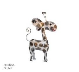 Medusa giraf klein zwart/wit