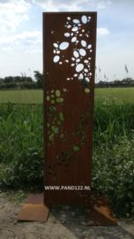 Tuinscherm met steenmotief (Smal)