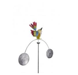 Medusa windspel vogel bont