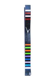 Carneol klok rainbow 8x98