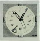 Carneol Design glasklok Limn grijs/wit
